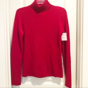 Sweaters - 100% Cashmere Turtleneck Red Sweater sz Small